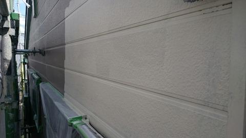 サイディング部中塗り2
