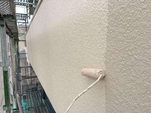 外壁、上塗り2