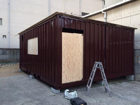 外壁遮熱塗料日本ペイント サーモアイシリコン2回目完了