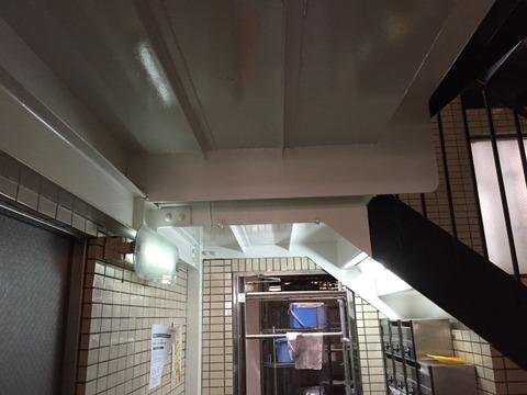 階段天井完了