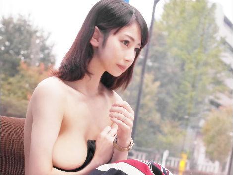 ☆人妻ナンパ☆「えっでもっ、、、恥ずかしいです♡」色白巨乳おっぱいのお姉さんが乳首を責め&騙しNTR