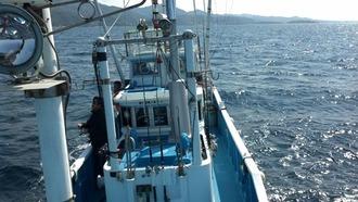 1ベタ凪の海