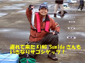 Sumidaさんサゴシげっつ