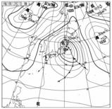 天気図12月27日