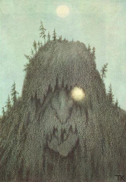 417px-Theodor_Kittelsen_-_Skogtroll,_1906_(Forest_Troll)