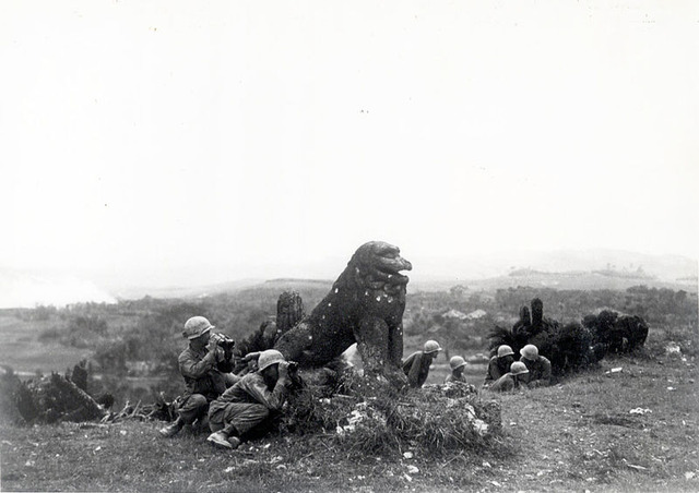 Tomori_Stone_Lion_(18_June_1945)