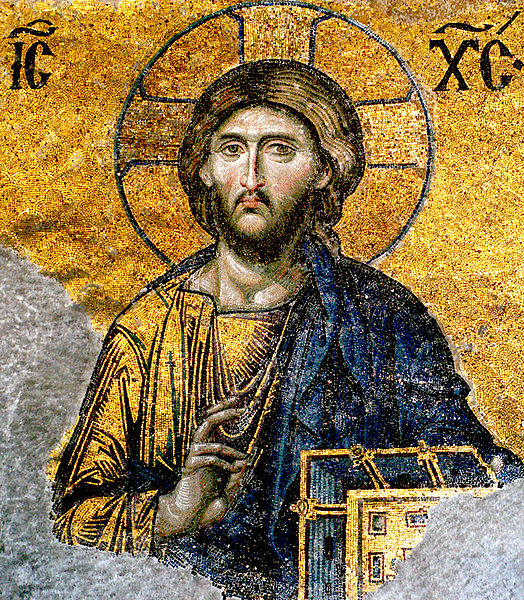 524px-Jesus-Christ-from-Hagia-Sophia