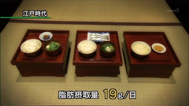 江戸時代の1日(3食)のメニューが確実に栄養不足になる栄養量しかない件