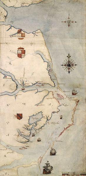 293px-Roanoke_map_1584