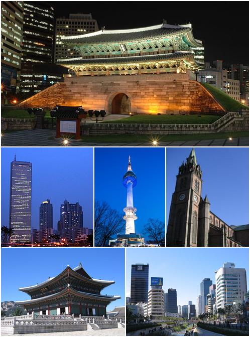 Seoul_montage