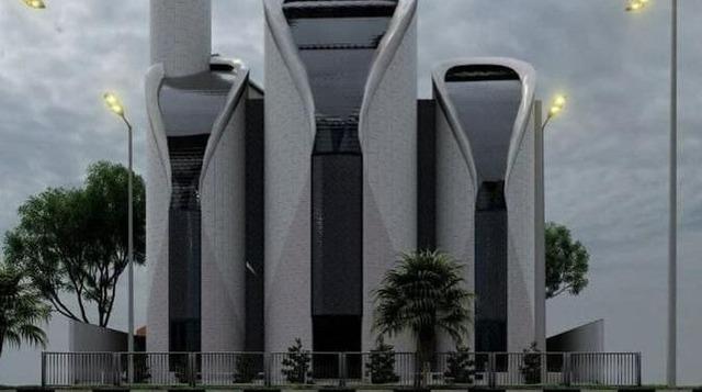 【朗報】パレスチナに新規に建てられたモスク、PS5だと話題に