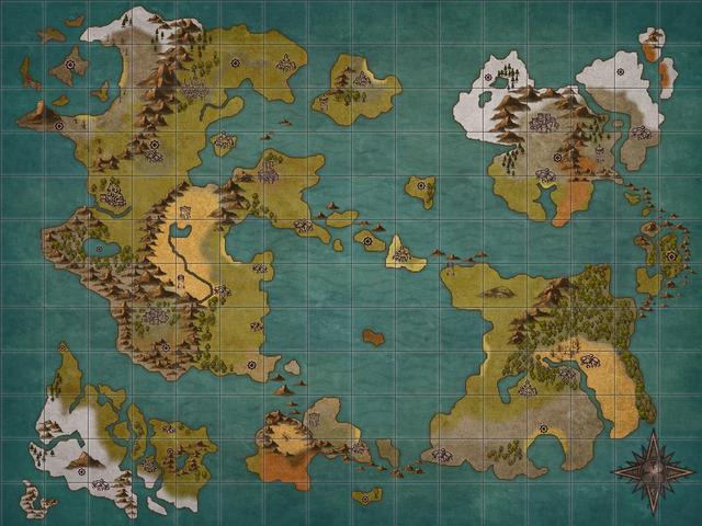 【悲報】ワイ、架空の世界地図描いてたら嫁に「楽しい?」って半笑いで言われる