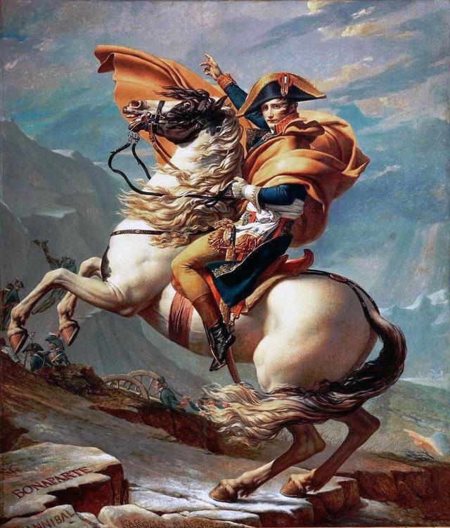 David_-_Napoleon_crossing_the_Alps_-_Malmaison1