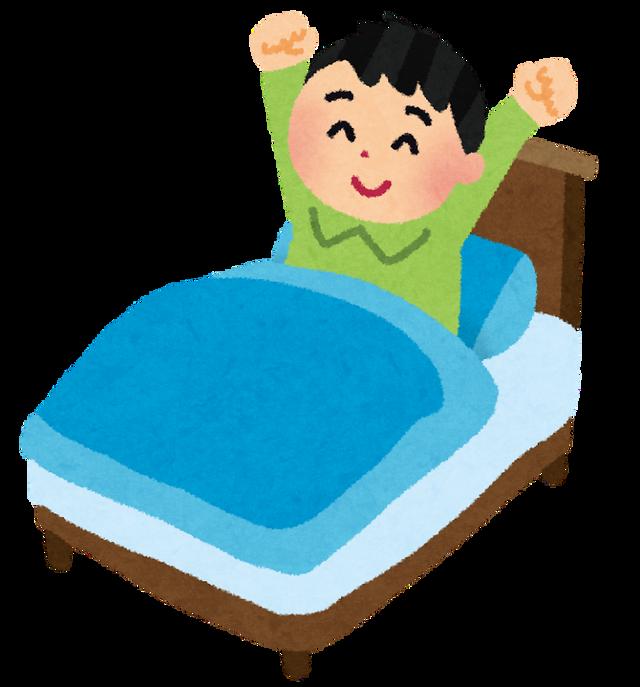 人間「人間は6時間ねれば十分で、気持ちのいい目覚めができます!」ぼく「わかった!じゃあ毎日1時に寝て7時に起きよう!」