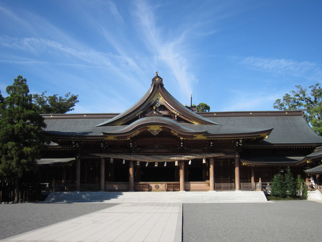 寒川神社_拝殿