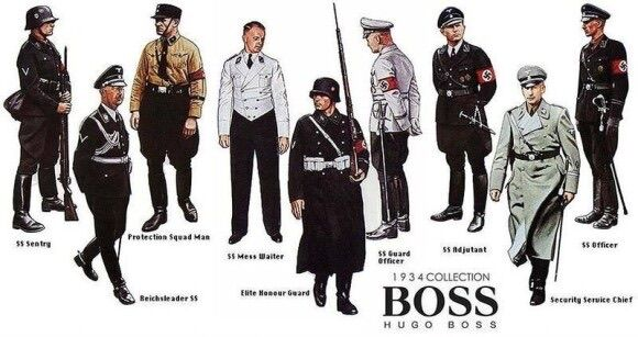 ナチスの服ってカッコよすぎだろ…