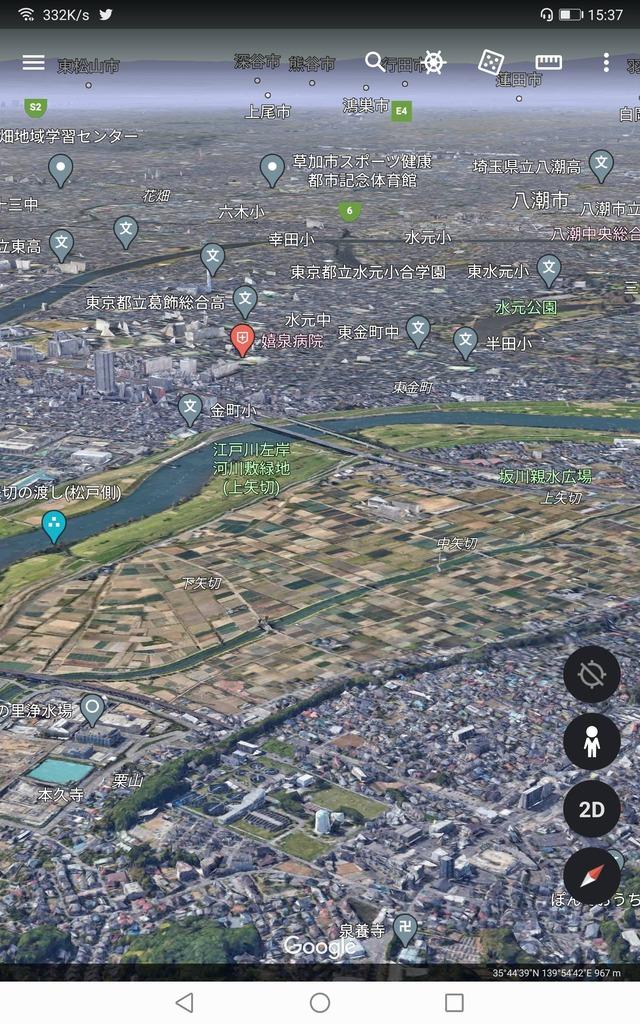 葛飾区と松戸市の間にある広大な農地wwwww