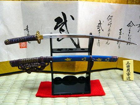 三日月宗近日本刀がかっこいい