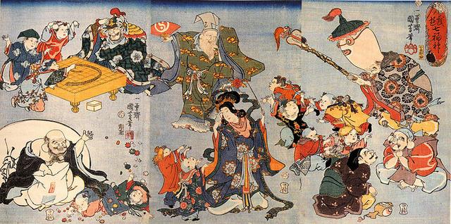 800px-Kuniyoshi_Utagawa,_The_seven_goods_of_good_fortune