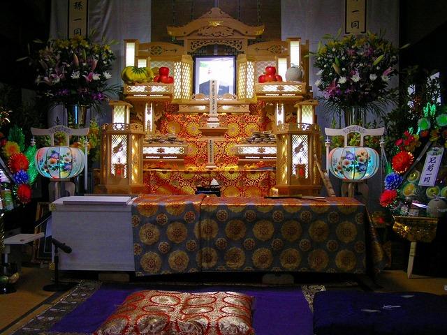 現代の標準的な葬式