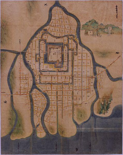 476px-Hiroshima_Castle_Town_1644