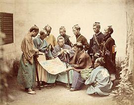 270px-Satsuma-samurai-during-boshin-war-period
