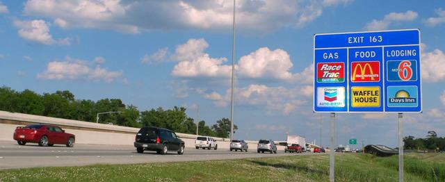 【画像】アメリカの高速道路グルメ事情wwwwwwwww