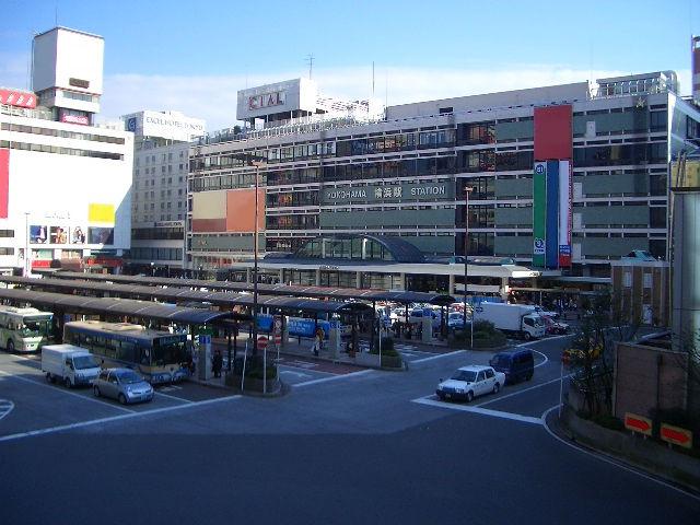 20080605170358!横浜駅西口遠景
