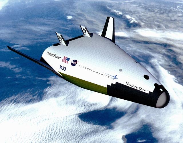 X-33_Venture_Star_in_Orbit
