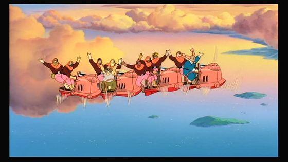 天空の城ラピュタ 迎え