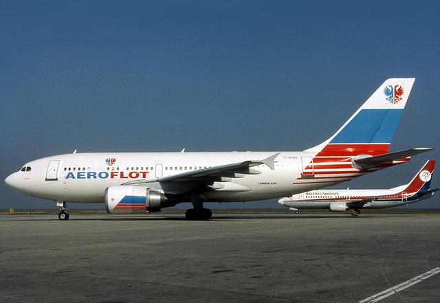 Aeroflot_Airbus_A310-300_F-OGQS_CDG_1993