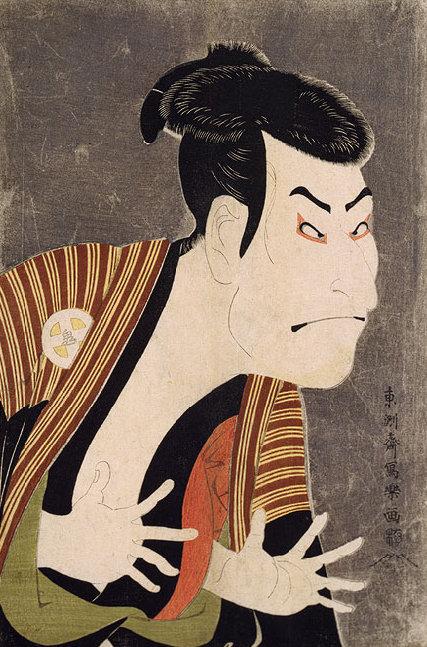 Toshusai_Sharaku-_Otani_Oniji,_1794