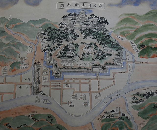 720px-Gassan_Toda_Castle_old_map