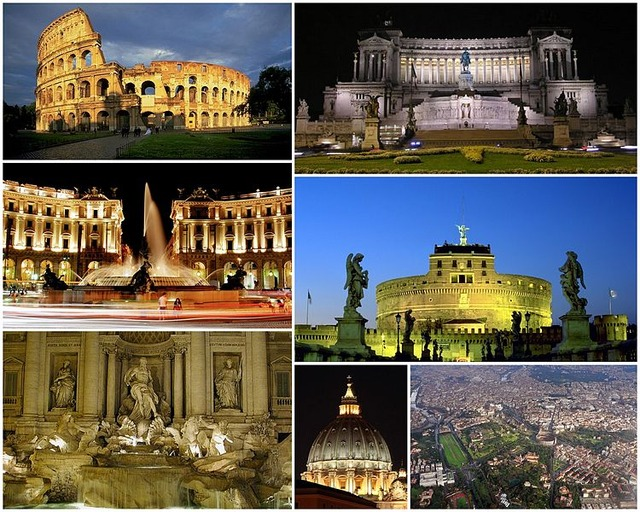 Collage_Rome