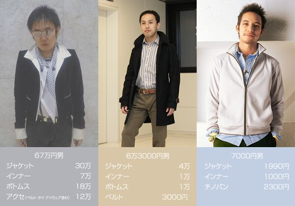 67万円男