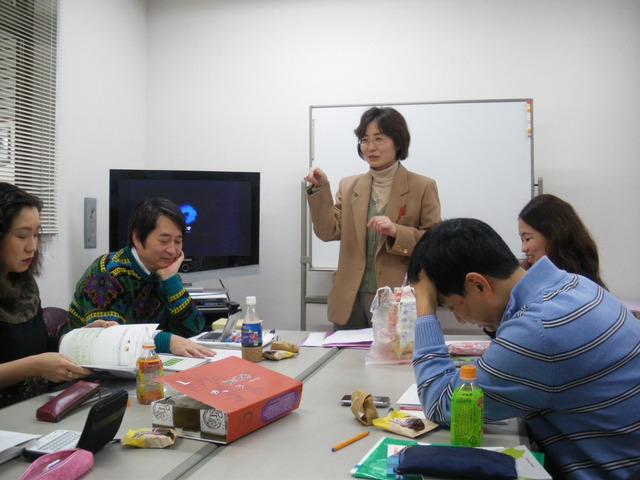 千津子先生の授業・上級1