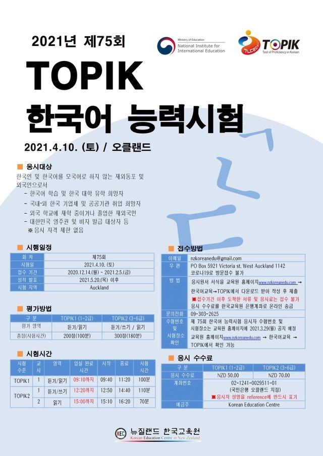 第75回TOPIK