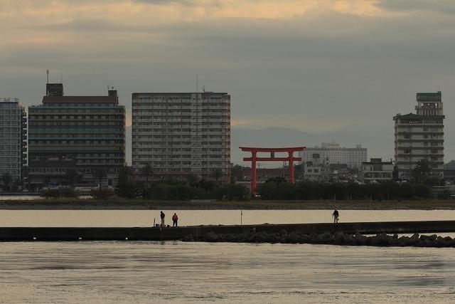 浜名湖の朝2-s