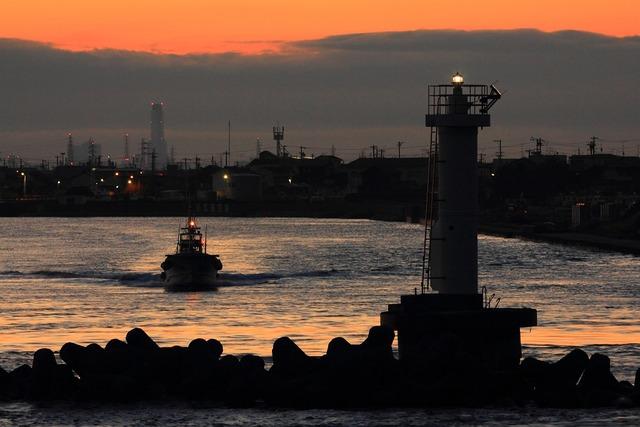 浜名湖の朝1-s