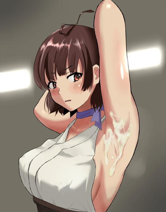 ヒロイン達の腋マ○コがエロすぎて責めまくりたくなるエロ画像www