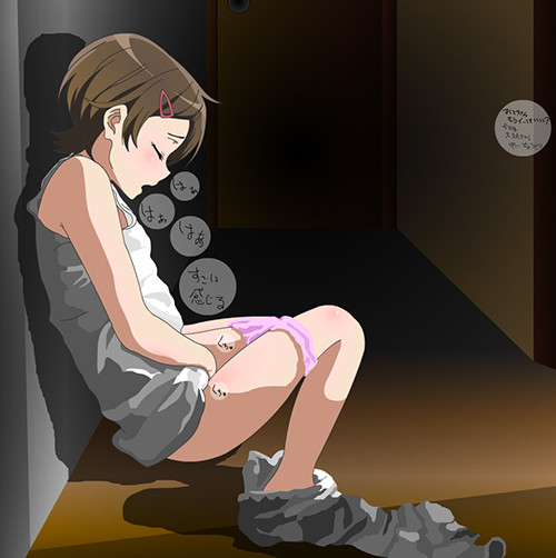 【エロ漫画】 修学旅行はヌーディストビーチ!! 男子のエレクチオンは女子がサポートwww