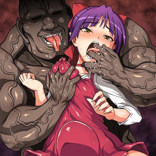 【キモオヤジレイプwww】ヒロイン達が汚っさんのねちっこい責めで強制アヘ顔にされちゃう画像wwwpart107