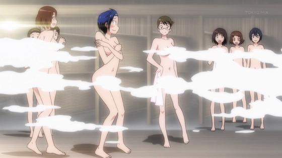 ニセコイ風呂シーン015