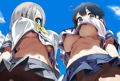 【エロ画像】無防備エロス!!全身スキだらけなヒロインの画像www
