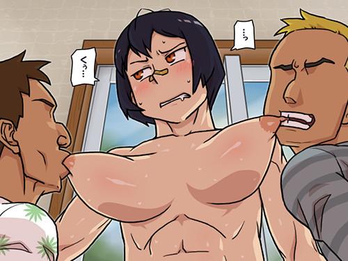 格闘筋肉娘「こんなことで屈したりしない!」⇒「」 DQN達に快楽責めで屈服させられちゃうwwww