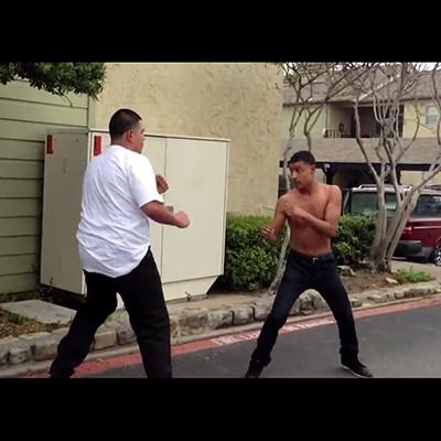 【動画】不良(身長185cm体重100kg)VS 不良(身長175cm体重70kg)がガチ喧嘩した結果・・・まさかの展開に