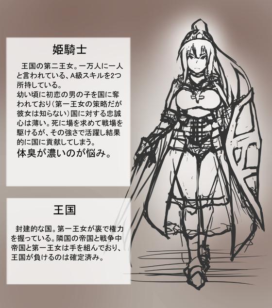 姫騎士「くっ殺しなさいっ」 匂いフェチの変態「ニヤニヤ」 捕らえられた姫騎士が辱めを受けてるようですww
