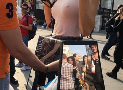 チンポ見せ付けられて強制発情させられちゃってるヒロイン達の画像wwww