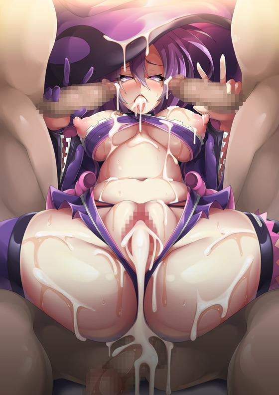 【エロ画像】 集団オチ○ポで輪姦レイプ!! 為す術がないヒロイン達の画像wwwpart91