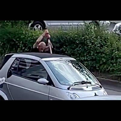 【閲覧注意】ドイツにやって来たシリア難民、日本刀でドイツ人をぶっ殺す(動画あり)